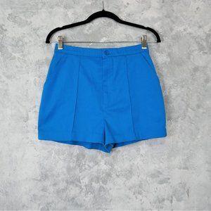 Vintage High Waist Blue Shorts